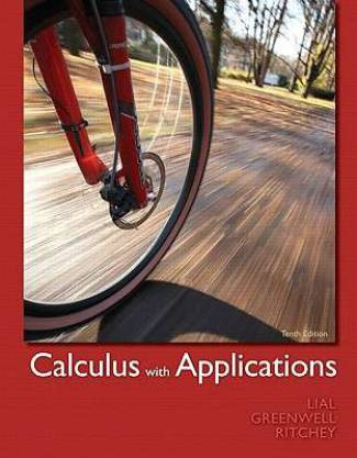 Calculus with Applications (PDF) - Margaret L. Lial