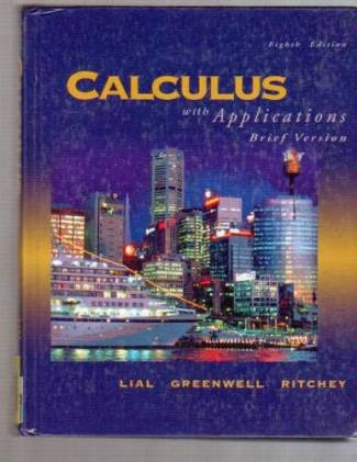 Calculus with Applications (PDF) - Margaret Lial