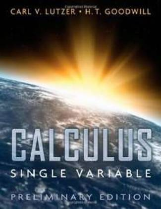Calculus Single Variable (PDF) - Carl Lutzer